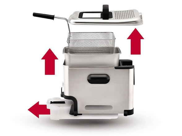 t fal ultimate ez clean fryer manual