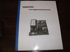 dayco eastman np60 crimper manual