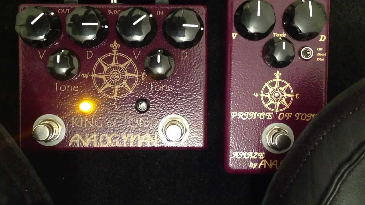 analogman king of tone manual