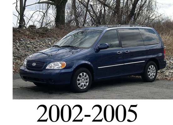 2004 kia sedona repair manual
