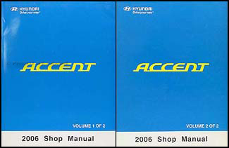 2006 hyundai accent repair manual