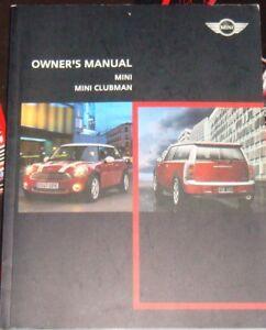 2013 mini cooper owners manual