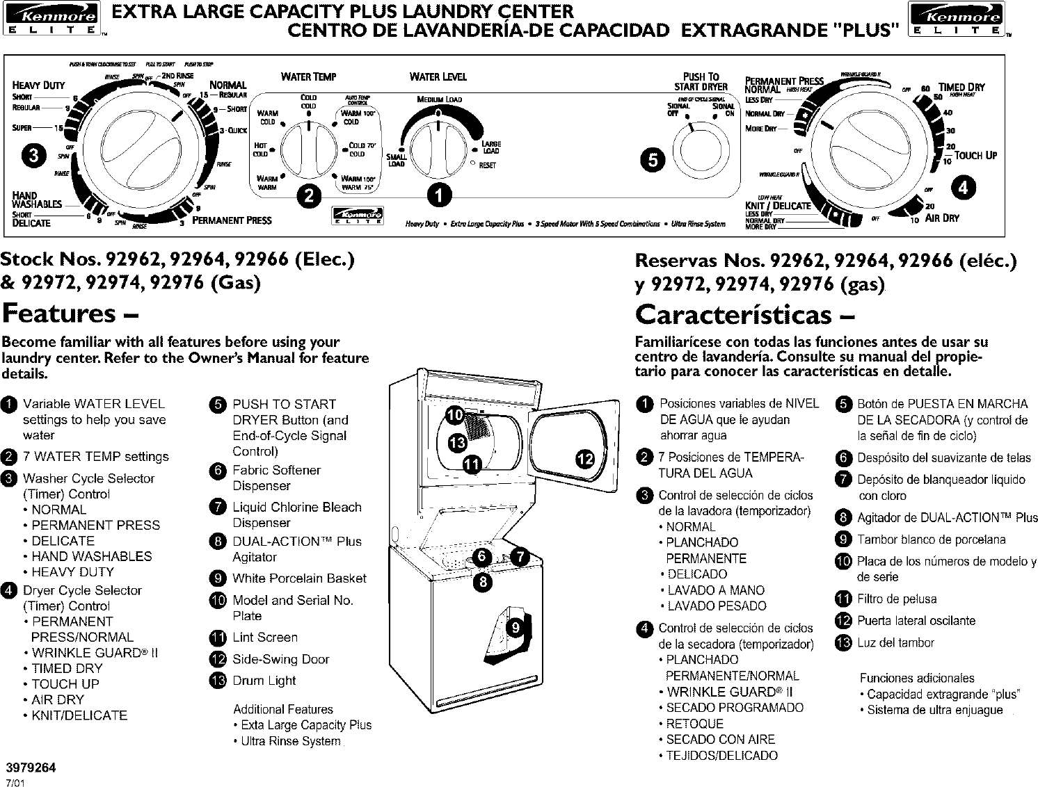 kenmore elite stove manual pdf