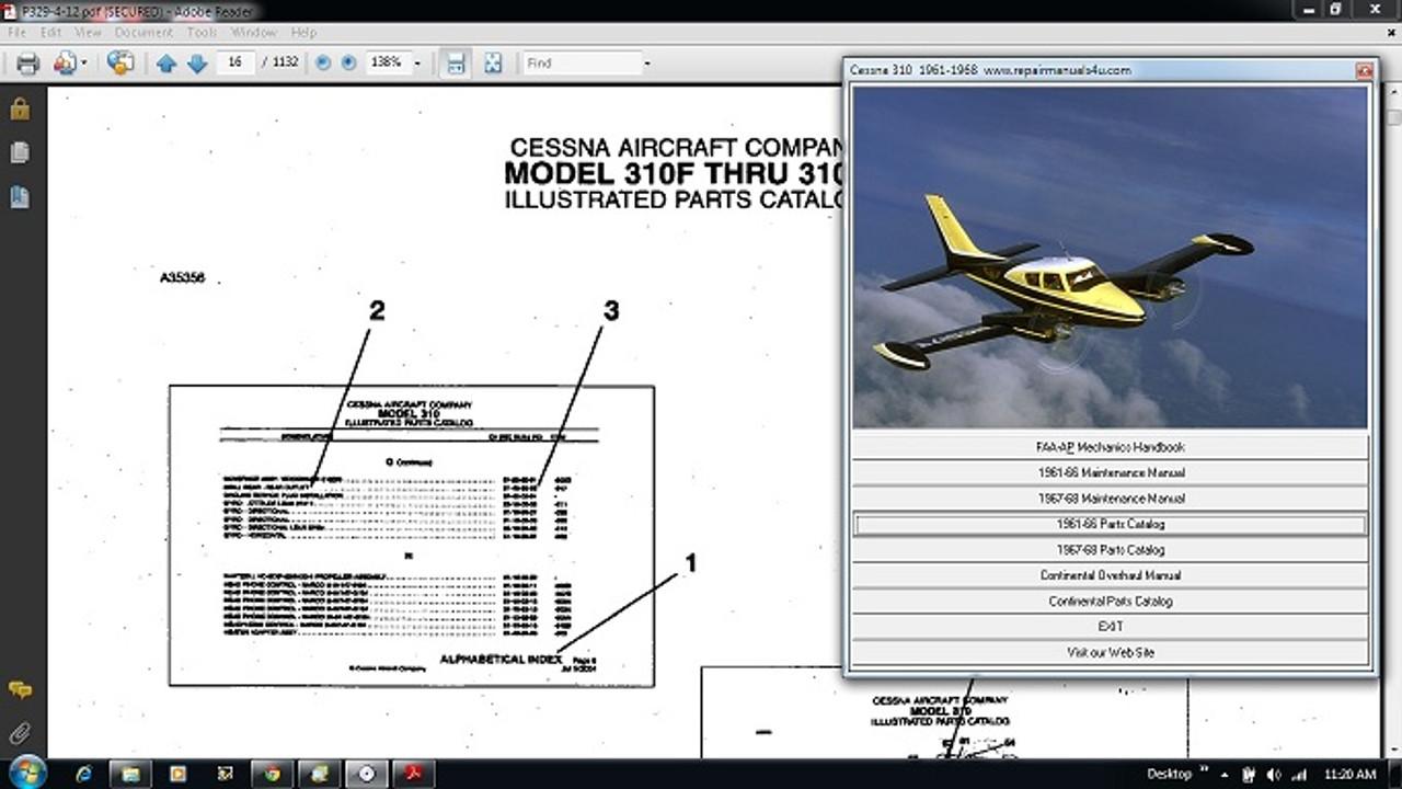 cessna 310 service manual pdf