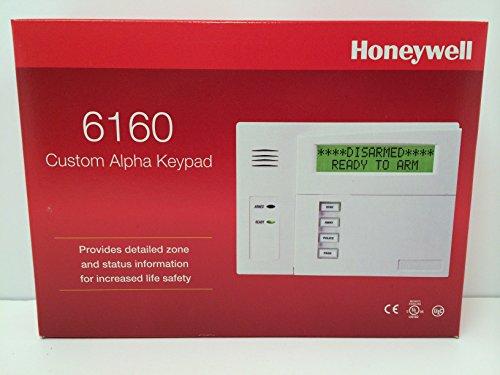 honeywell alarm keypad 6160 manual