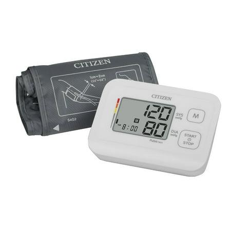 citizen blood pressure monitor manual