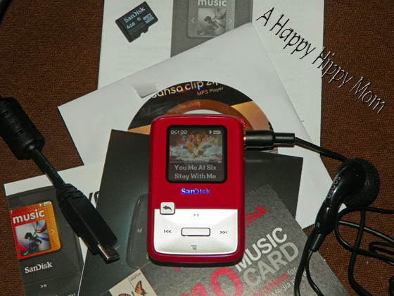 sandisk sansa clip mp3 player manual