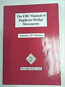 ebu manual of duplicate bridge movements