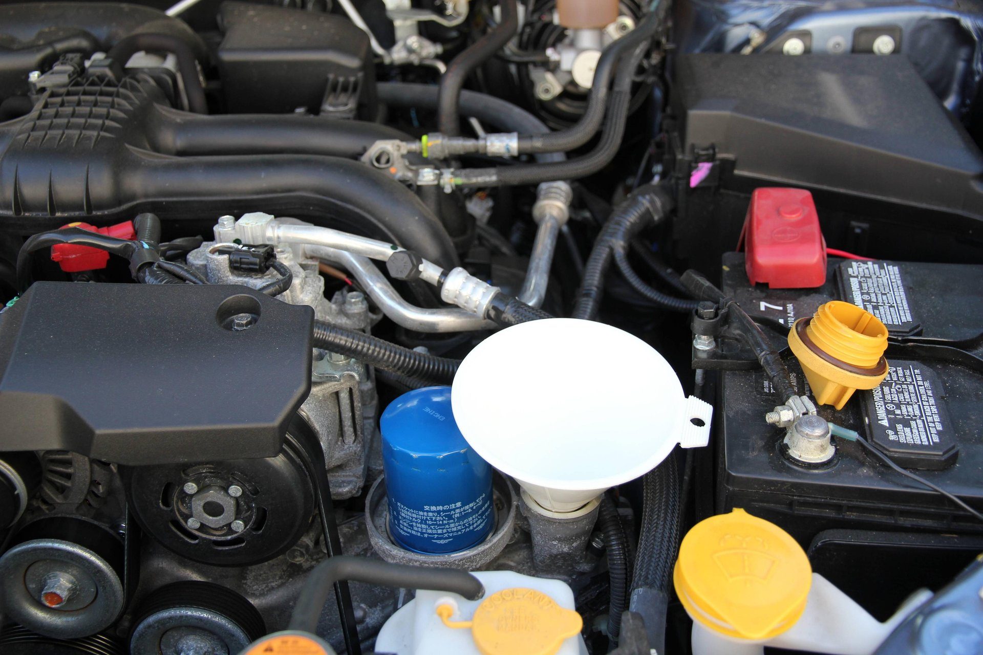 subaru impreza manual transmission fluid change