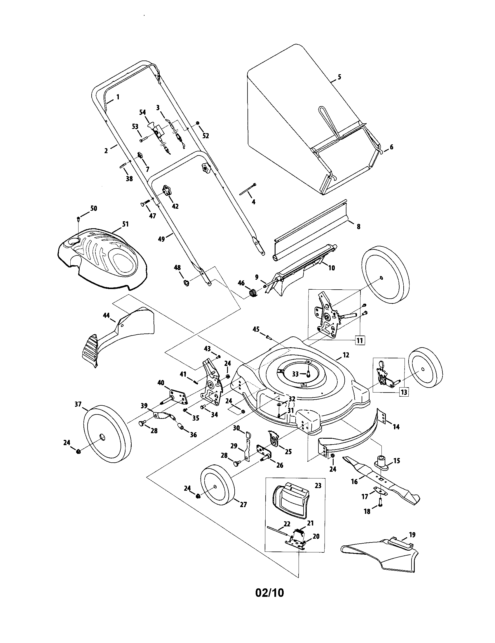 yardman lawn mower repair manual