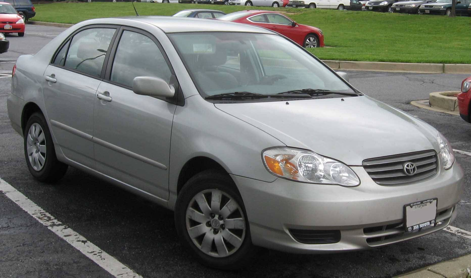 2000 toyota corolla mpg manual