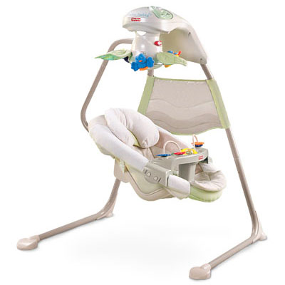fisher price papasan cradle swing manual