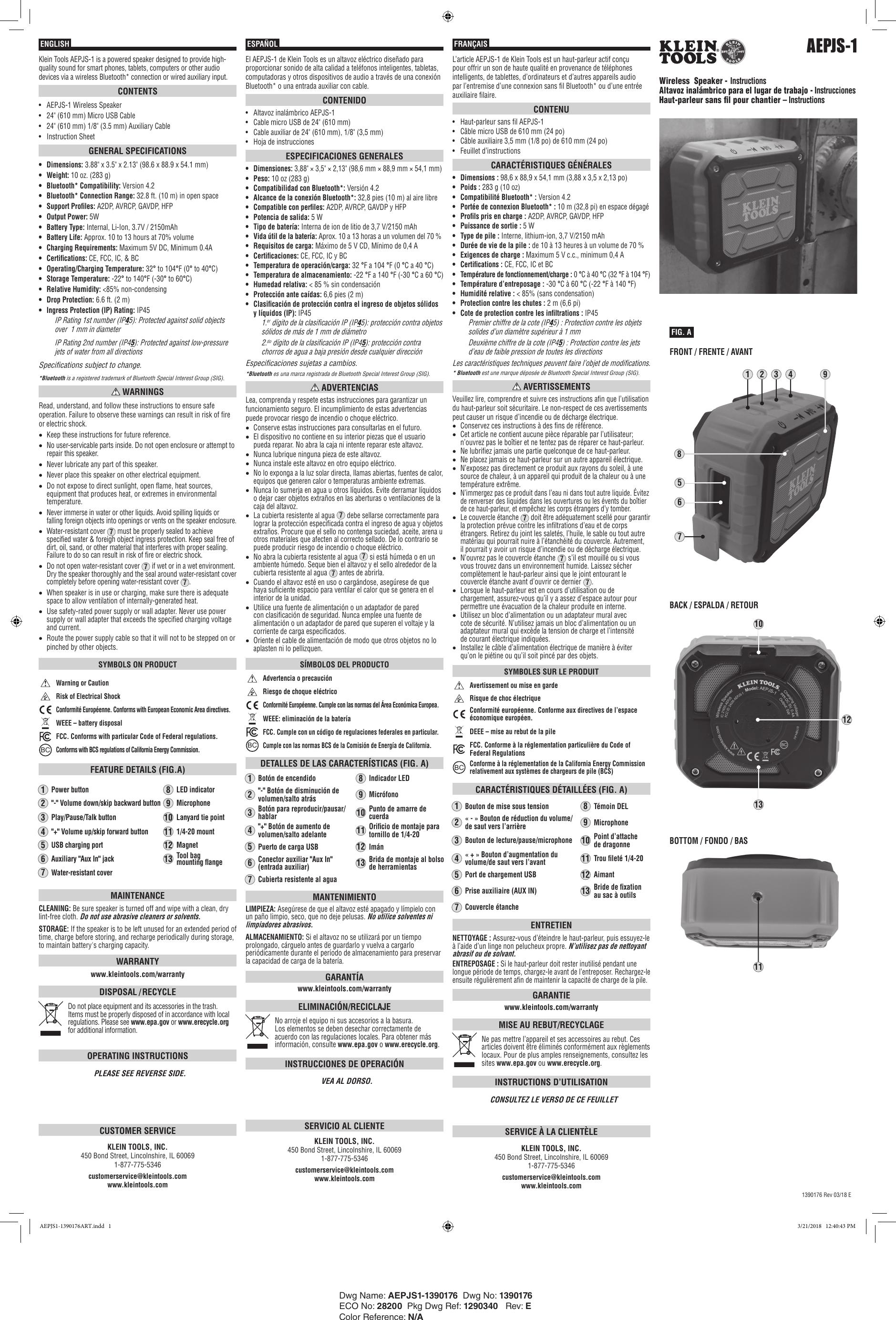 klein tools ncvt 2 user manual