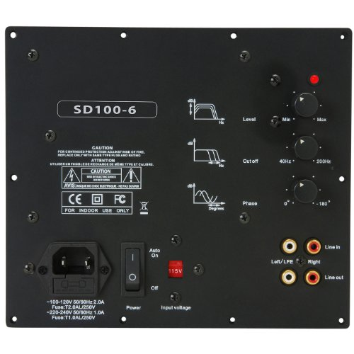 nuance subwoofer module s 100 manual