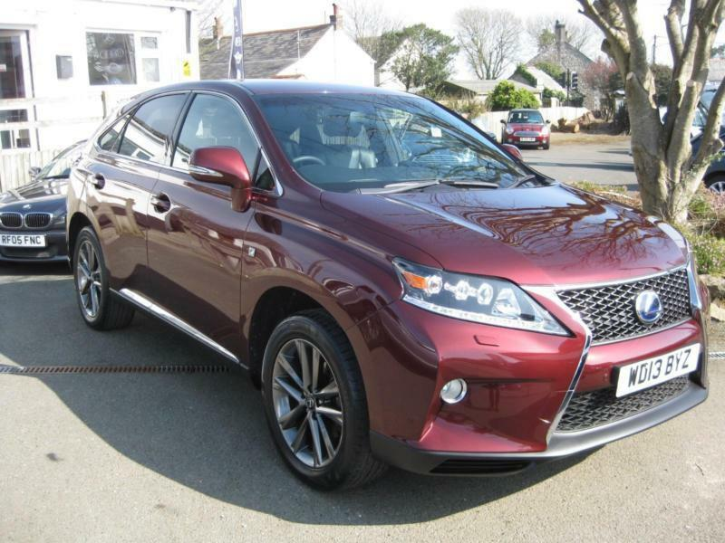 2013 lexus rx450h owners manual