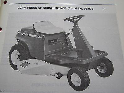 john deere riding mower manual free