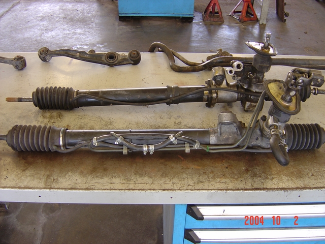 del sol manual steering rack