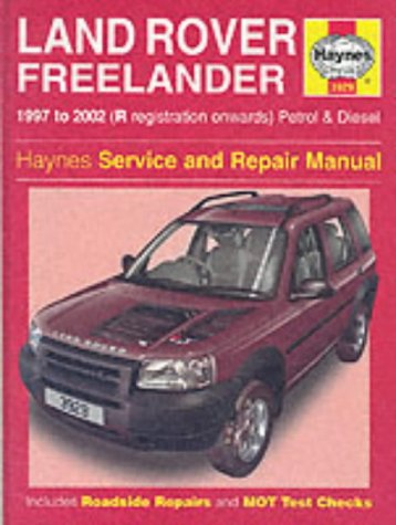 land rover freelander owners manual