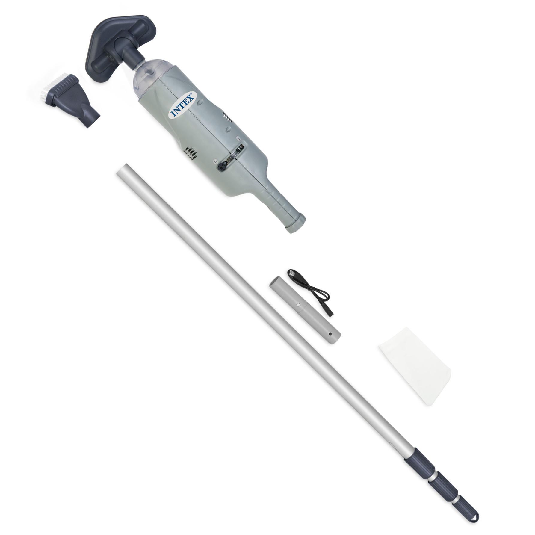 manual above ground pool vacuum