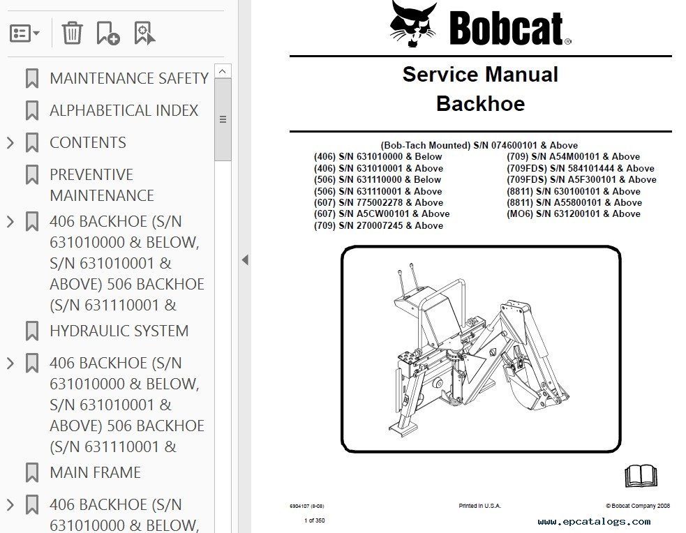 bobcat 463 service manual pdf
