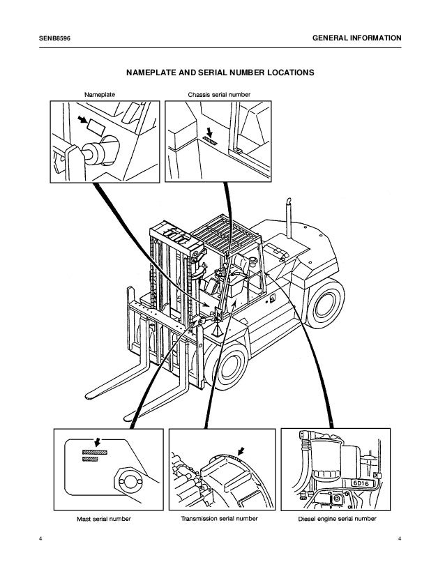 caterpillar forklift parts manual pdf