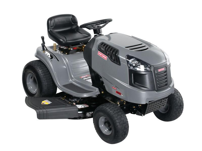 craftsman riding mower model 917 manual