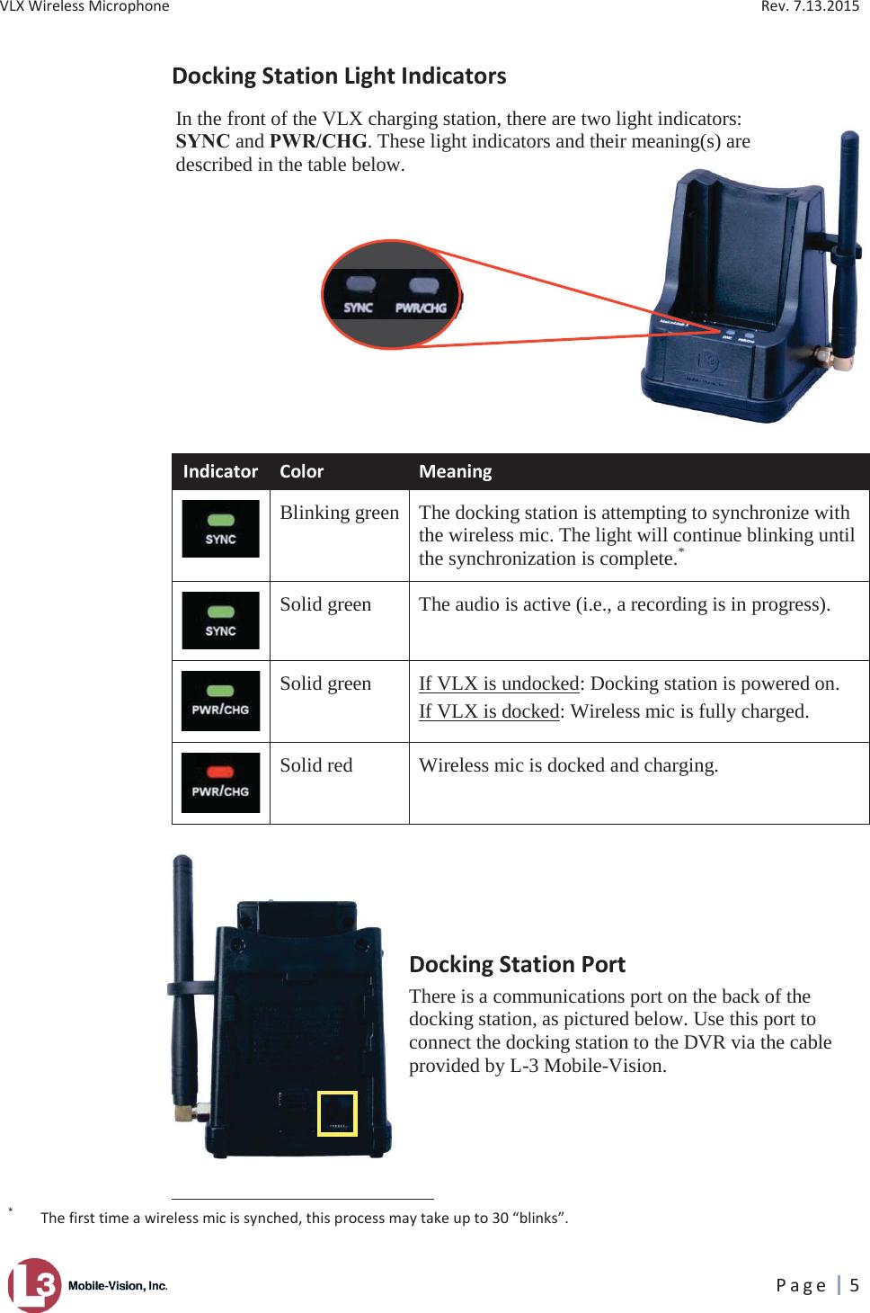 l3 mobile vision user manual