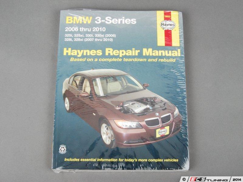 bmw 3 series repair manual