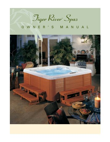 eon hot tub owners manual