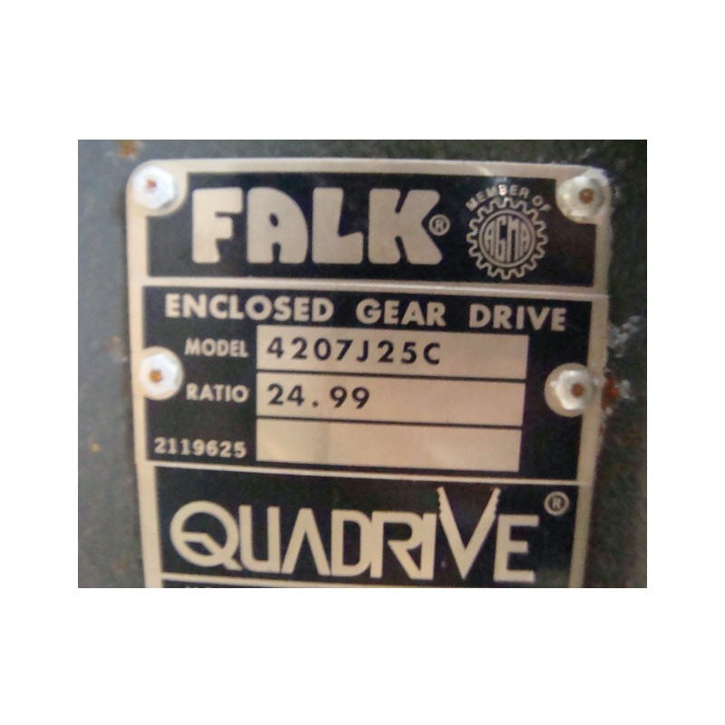 falk enclosed gear drive manual