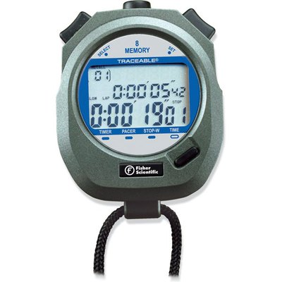 fisher scientific traceable stopwatch manual