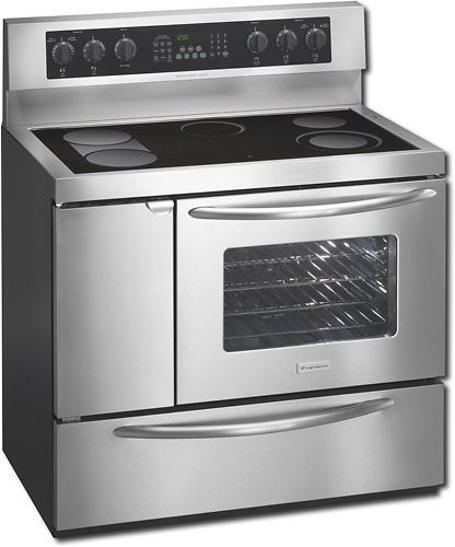 frigidaire professional series stove manual