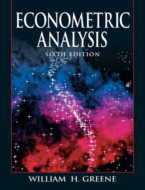 greene econometric analysis 7th edition solution manual pdf