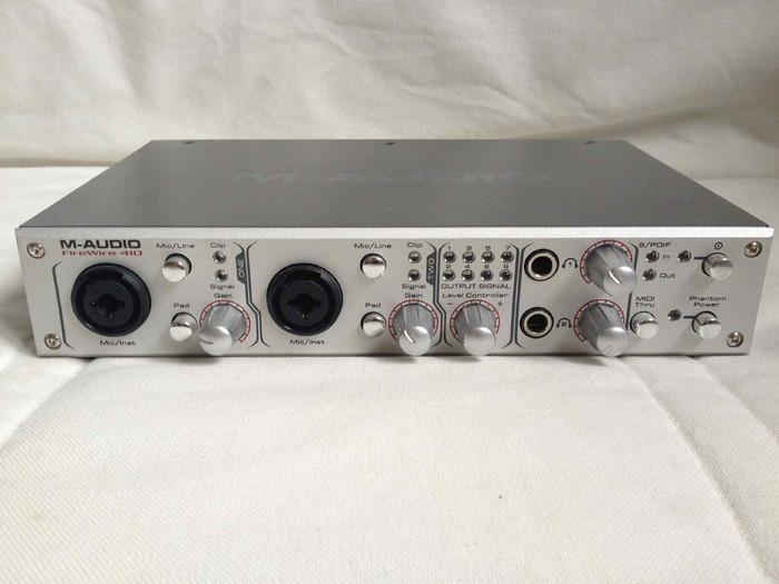 m audio firewire 410 manual