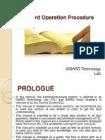 manual capsule filling machine operating procedure