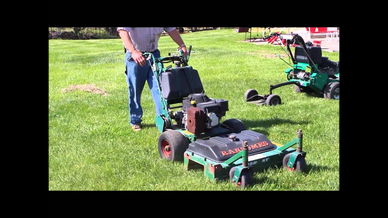 ransomes walk behind mower manual