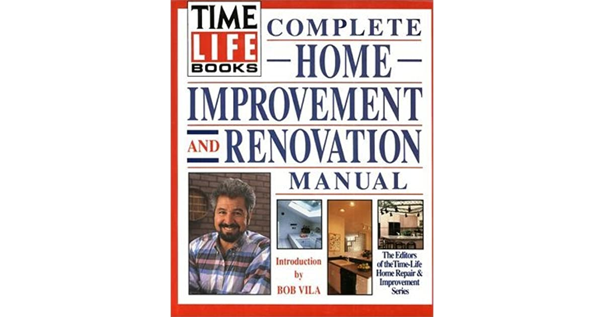 time life books complete home repair manual